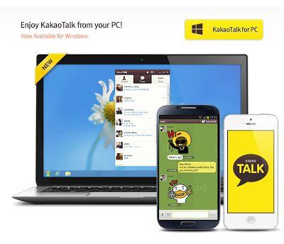 Download dan Install Aplikasi Kakao Talk di PC