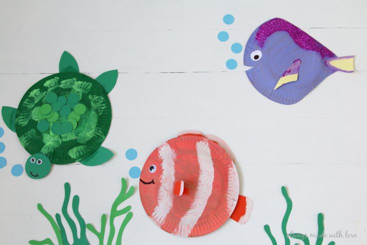 17 best images about everything kids link party week a for Finding dory crafts for preschoolers