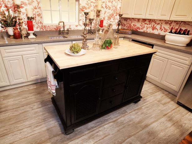 Rustic Country Kitchen Island  (Rachel Kate and Mikel)