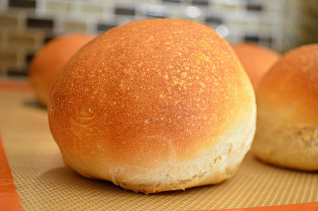 Homemade Crusty Hamburger Buns like you find in the gourmet bakeries!
