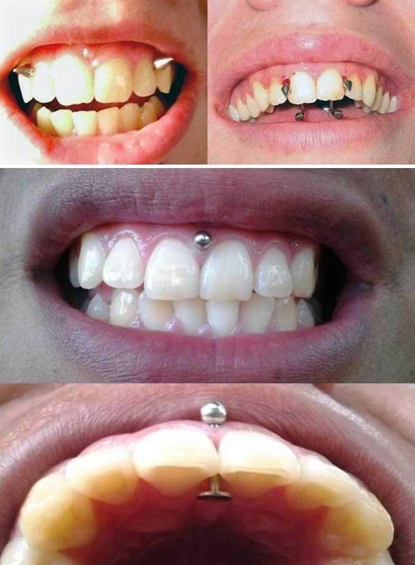 Bei frauen piercings Intimpiercing bei