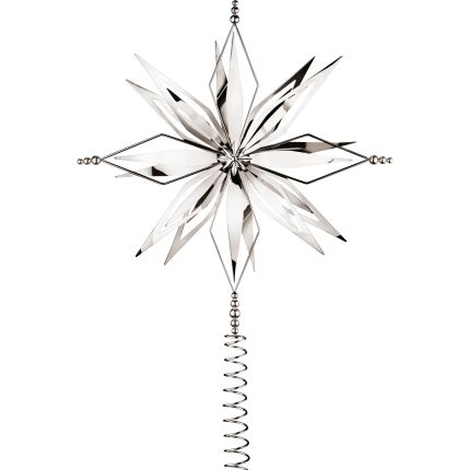 Silver Tree Topper by Georg Jensen... it's a bout time ...