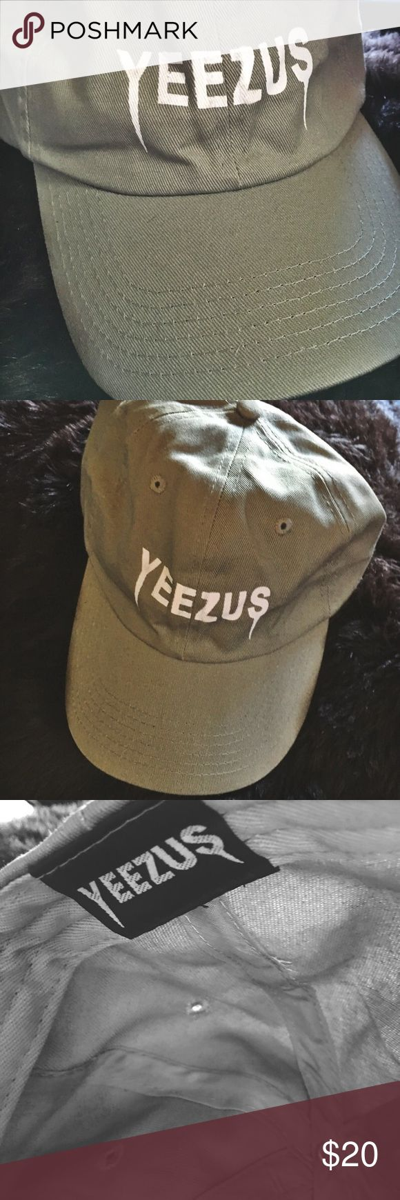 Yeezus Tour Dad Cap From the Yeezus Tour Merchandise Collection. Yeezy Accessories Hats