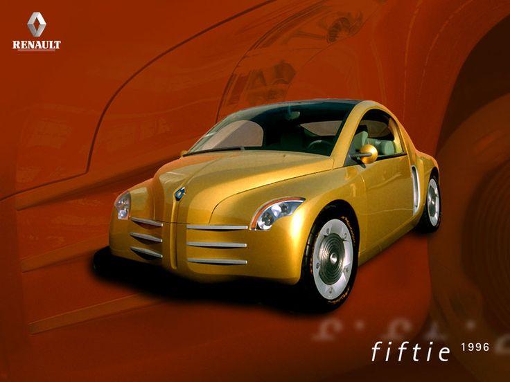 Le concept rétro design de Renault, la Fiftie, de 1996 célébrait le cinquantième anniversaire de la 4 CV avec tous les honneurs dus au rang de cette illustre aïeule.