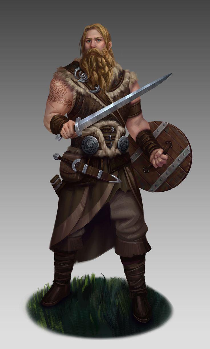 Warrior by NathanParkArt.deviantart.com on @DeviantArt