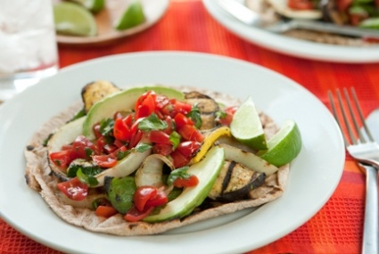 Grilled Veggie Tostadas with Fresh Salsa | Whole Foods Market