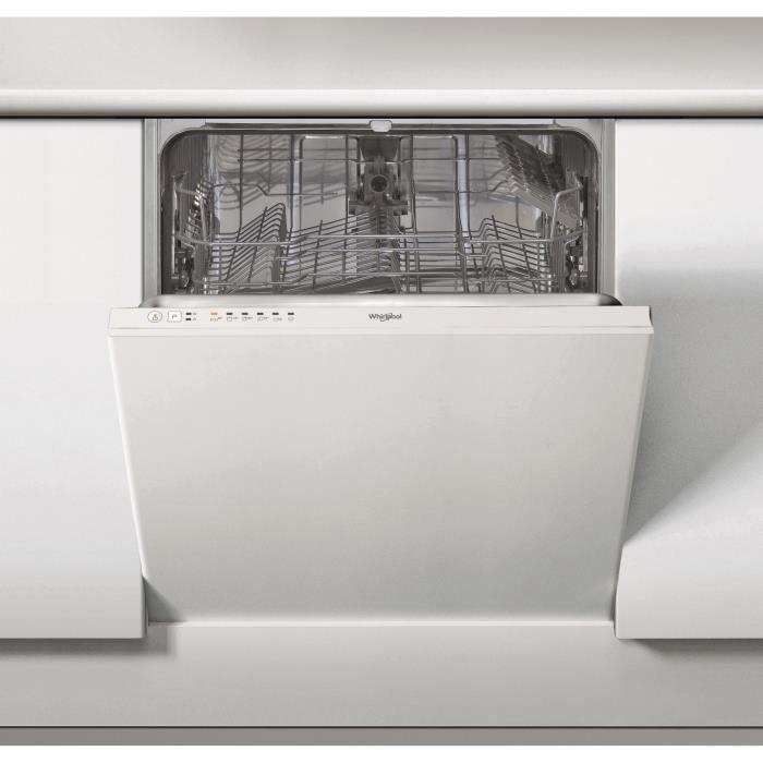 Whirlpool Wie 2b16 Lave Vaisselle Encastrable 13 Couverts 46 Db A Larg 60 Cm Lave Vaisselle Encastrable Lave Vaisselle Integrable Et Lave Vaisselle