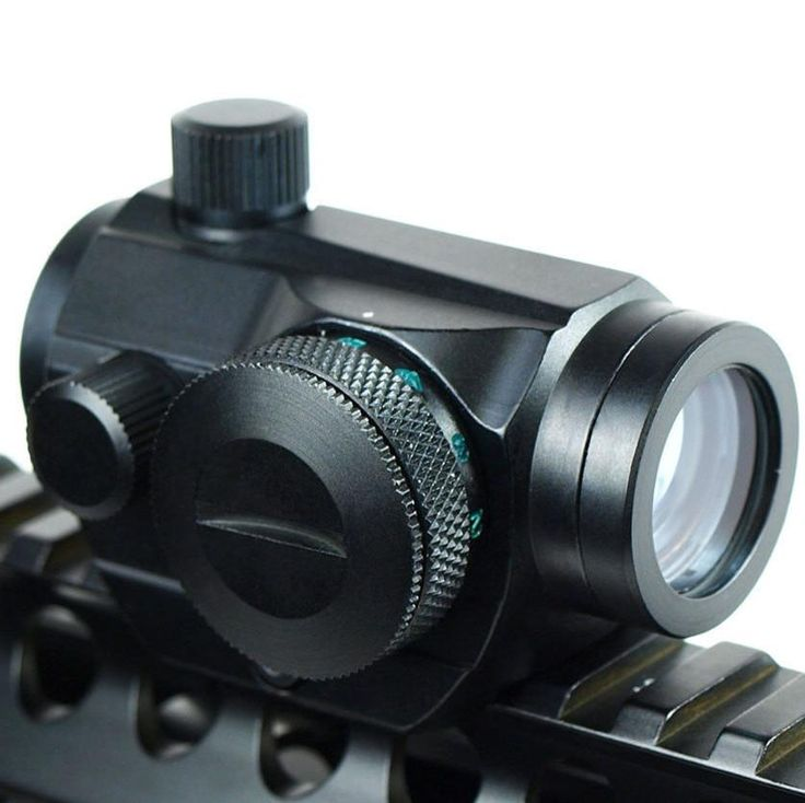 [Visit to Buy] Red Dot Scopes Sight 20mm Mount Pistol Scope Optics Riflex Hunting Riflescopes Red Dot Airsoft Air Guns Scopes Holographic Sight #Advertisement