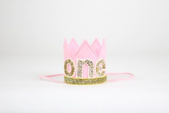 First Birthday Crown 1st Birthday Girl Outfit Felt