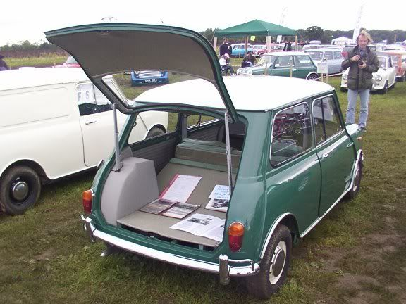 kmg 840b mini hatchback believed to be the one built for ernest marples then minister for. Black Bedroom Furniture Sets. Home Design Ideas