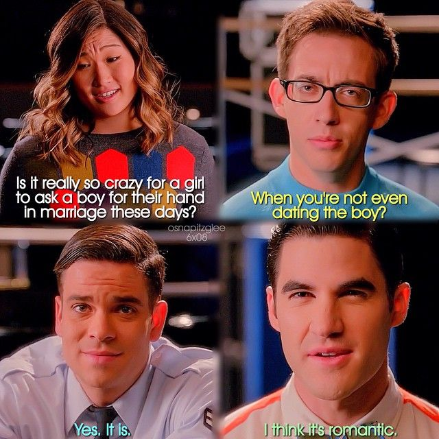 glee artie and tina dating quotes