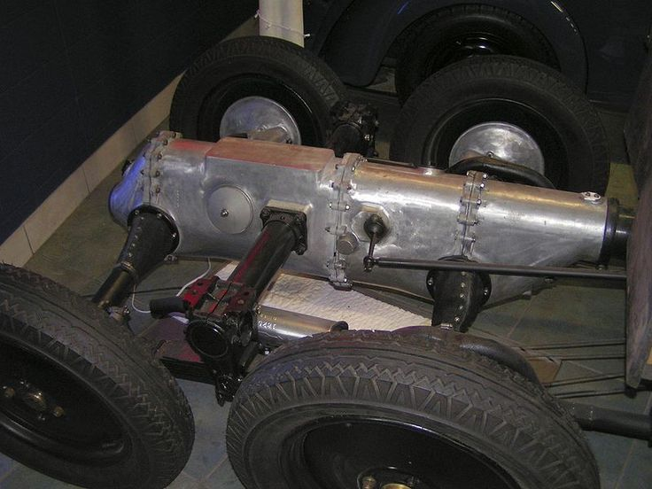 The chassis of the 26/30 truck variant