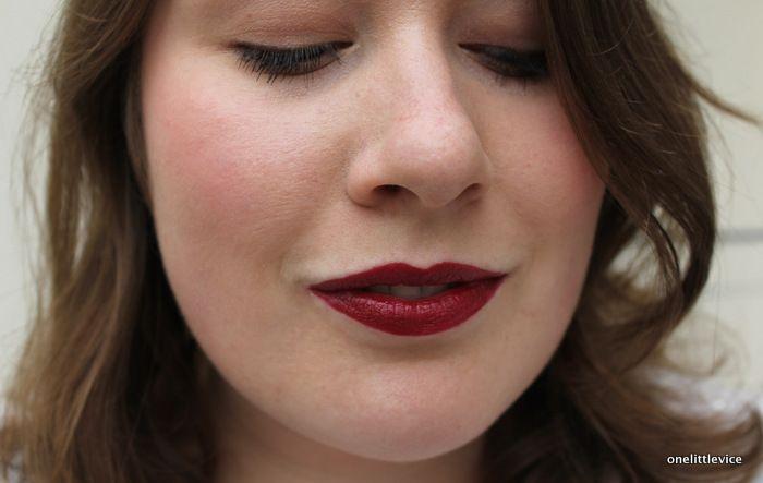 Nicka K Hydro Lipstick in Forward