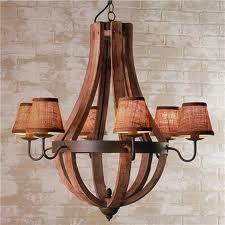 wood chandelier lighting - Google Search