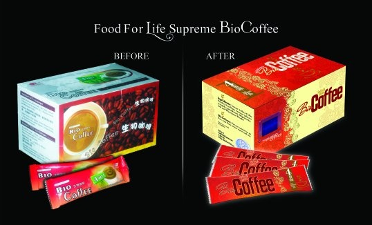 Bio-Coffee - 16 packs per box. - Food for Life Supreme Online Store