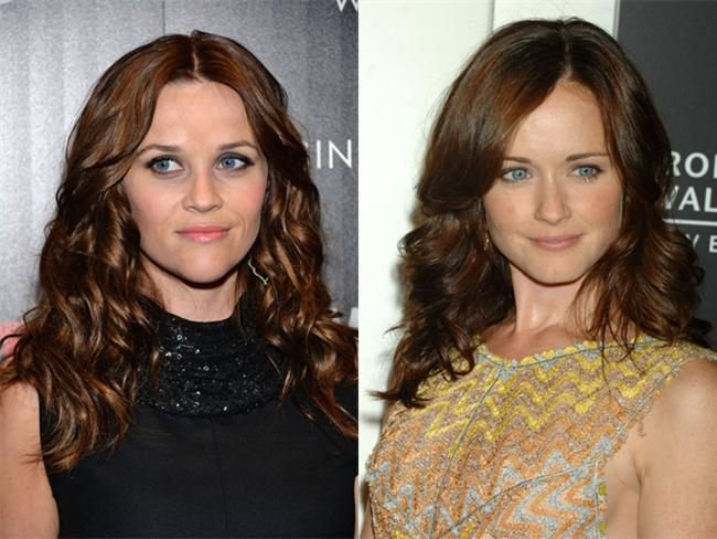 Reese Witherspoon & Alexis Bledel | CelebriTwins ... Mark Wahlberg