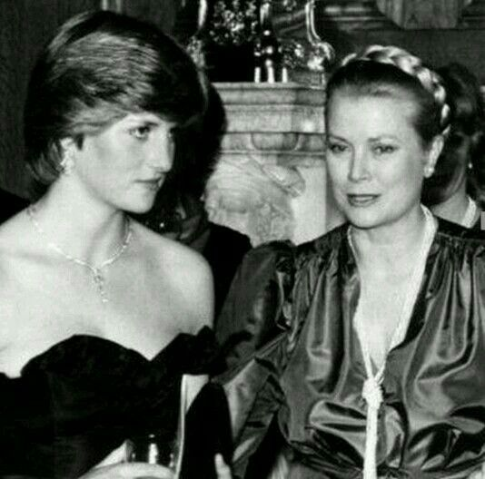 Principessa Diana ed Principessa Grace Kelli