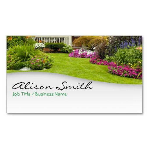 15 best landscaping business cards images on pinterest for Gardening business cards