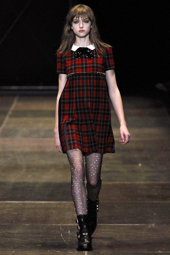 tartan trend (Saint Laurent)