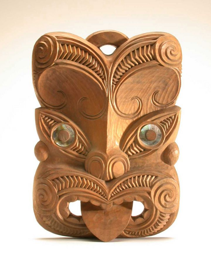ANCESTORS MASKS   Maoris, the original people of New Zealand, honour their ancestors ...
