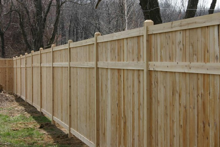 Privacy Fence structure