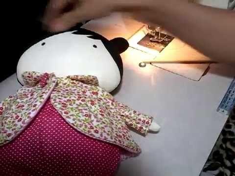 Tilda Toy/Baby: casaco parte 3/3 final - YouTube