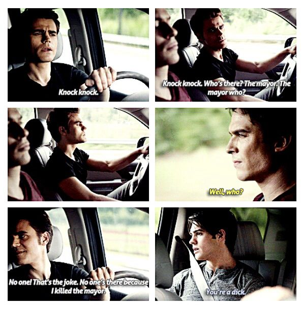 The Vampire Diaries- This was such a funny moment :)