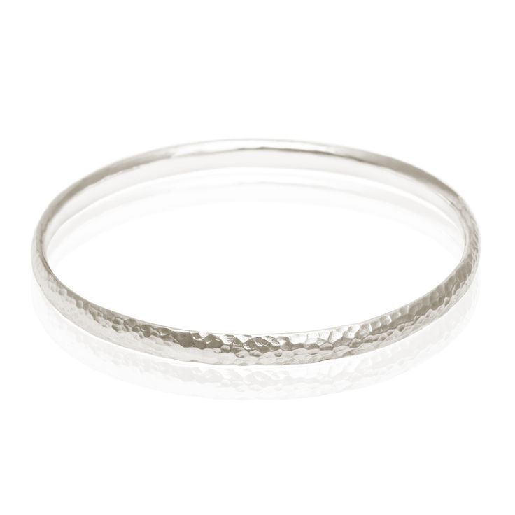 TEMPLE OF THE SUN JEWELLERY BYRON BAY - Hammered 5mm Bangle Silver, $119.00 (http://www.templeofthesun.com.au/hammered-5mm-bangle-silver/)