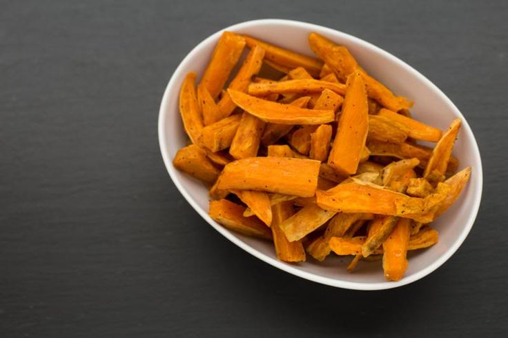 ❝Oven Sweet Potato Fries❞  Making sweet potato fries from scratch is a piece of cake.