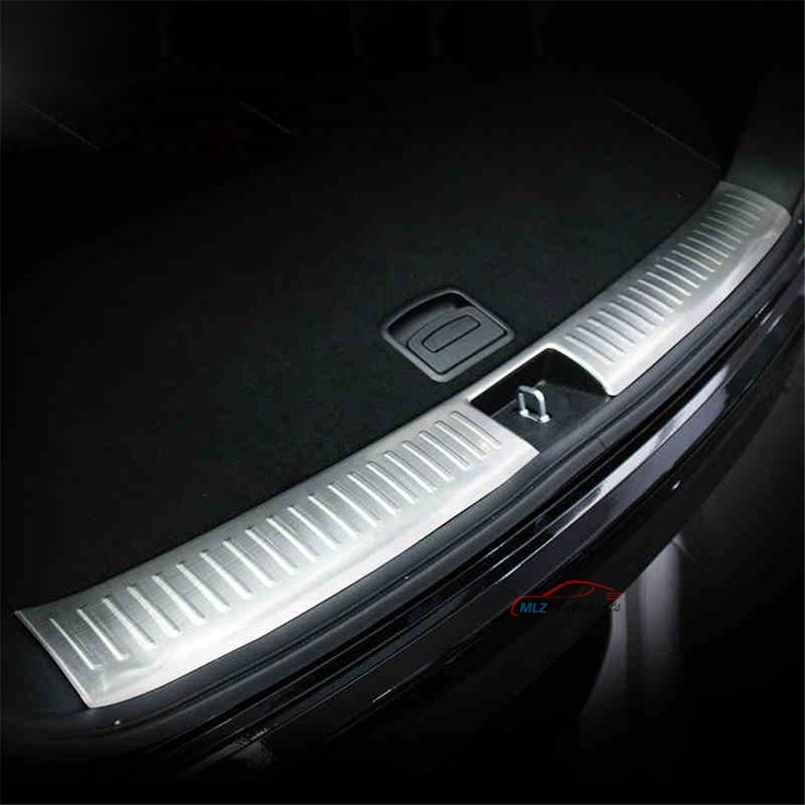 Toyota Prius 4th Generation: Stainless Steel Inner Rear Bumper Protector Sill Plate