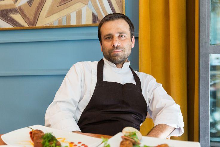 Στην κουζίνα του σεφ Βασίλη Βασιλείου