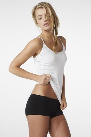 White Cami Top - Boody Organic Bamboo Eco Wear
