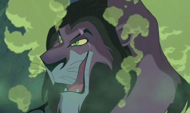 What Characters Would Buy on a Shopping Spree - Scar, The Lion King