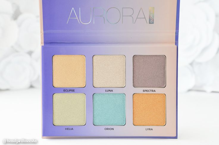 Review and Swatch Anastasia Beverly Hills Aurora Glow Kit Review ABH Aurora Glow Kit Review Anastasia Beverly Hills Glow Kit Review
