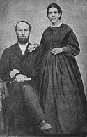 en.Wikipedia.org/*** ELLEN G WHITE--FOUNDER OF SEVEN DAY ADVENTIST CHURCH Picture--James and Ellen White