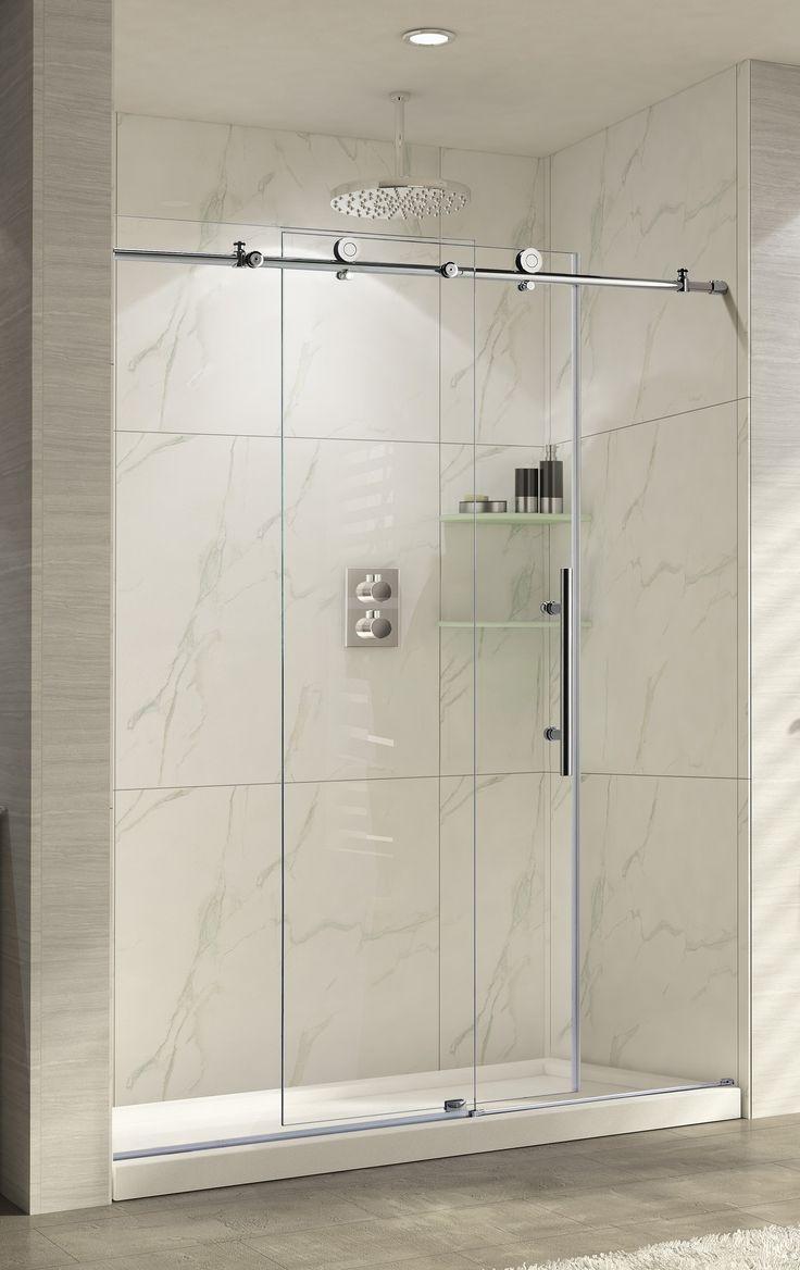 Best 25+ Frameless sliding shower doors ideas on Pinterest ...