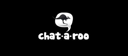 chat-a-roo logo designs