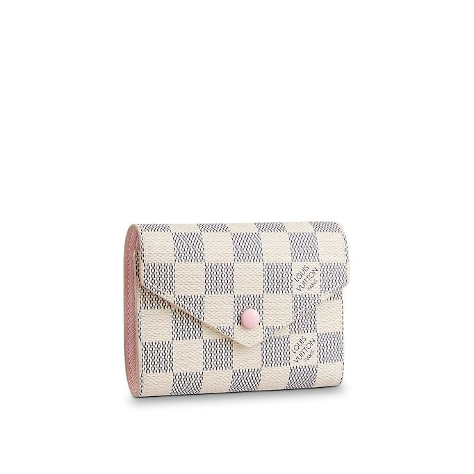 5adfcf3a066e View 1 - Damier Azur Canvas SMALL LEATHER GOODS WALLETS VICTORINE WALLET