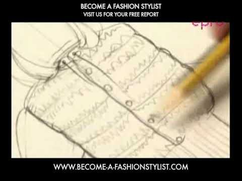 Fashion drawing - Epro image courses: How to become a fashion designer