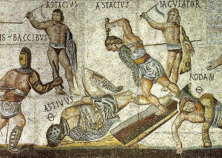 Essay/Term paper: The rise of gladiatorial combat in rome