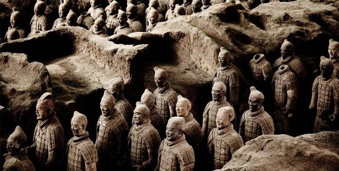 Soldados de Terracota. Conociendo lo más típico de China.