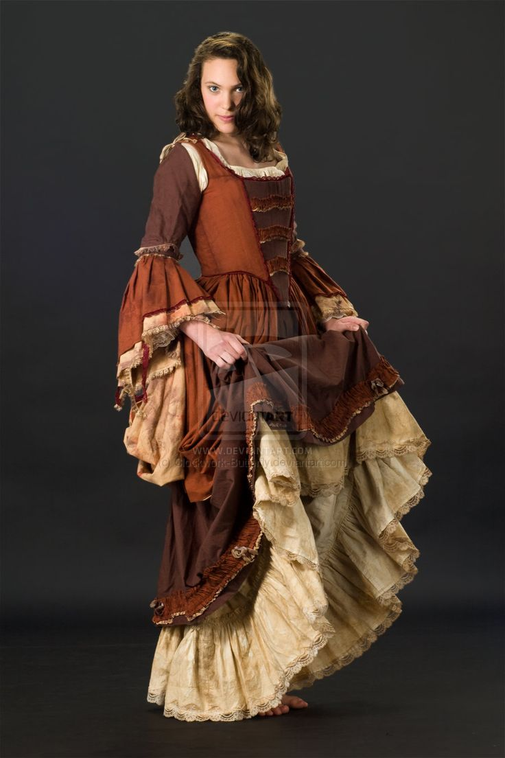 "Gowns Pagan Wicca Witch: ""18th Century Streetwear,"" By"