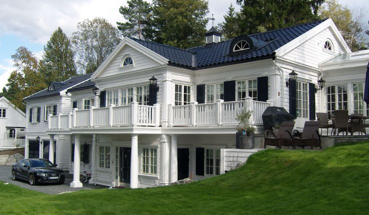 25 B Sta Id Erna Om New England Homes P Pinterest