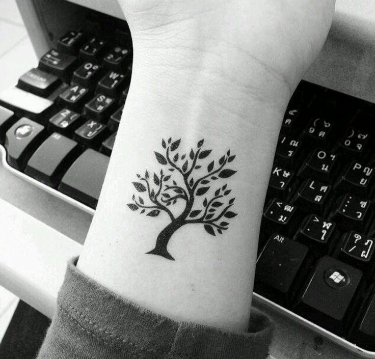 Mini tree #tattoo
