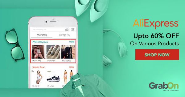 Shop smart! Check out flash #deals by #AliExpress, every 6 hours!  #shoppingindia #voucher #coupons #bargain