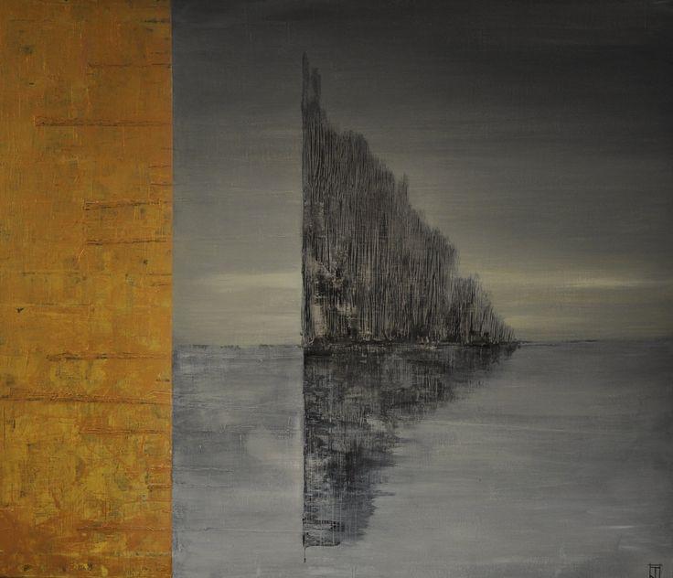 Jukka Tuominen Reflections-15 akryyli kankaalle 100x80