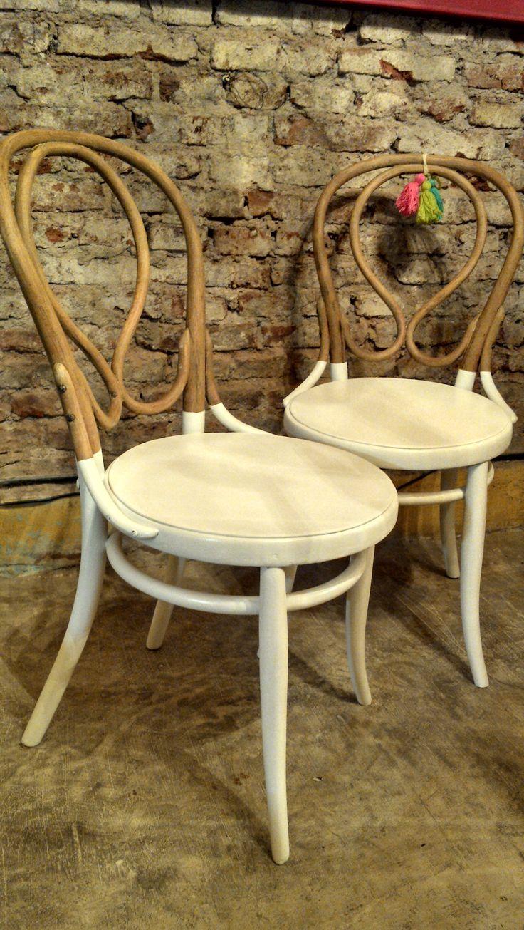 Muebles eran los de antes - Buenos Aires Sillas thonet intervenidas