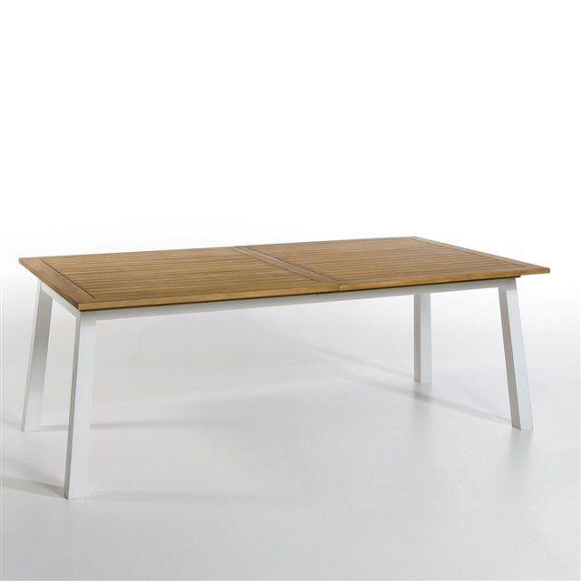 Table de jardin à allonge Astuto   Acacia