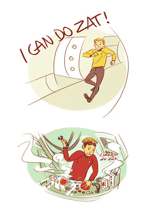 OMG! Angie you would so appreciate this pin! Chekov!