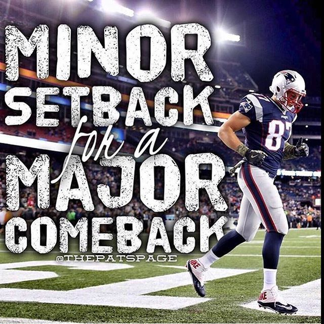 Gronk will be back... Don't doubt @gronk , he'll only make you feel like an idiot